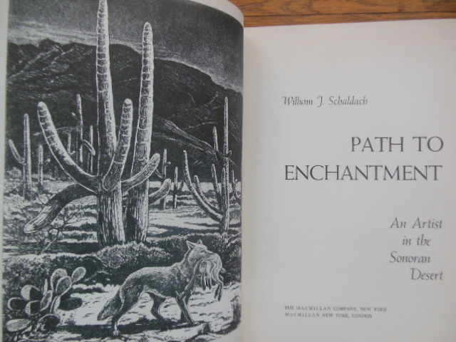 Image for Path to Enchantment; An Artist in the Sonoran Desert