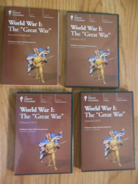 "Image for The Great Courses: World War I, The ""Great War""  (Book and 18 CDs)"