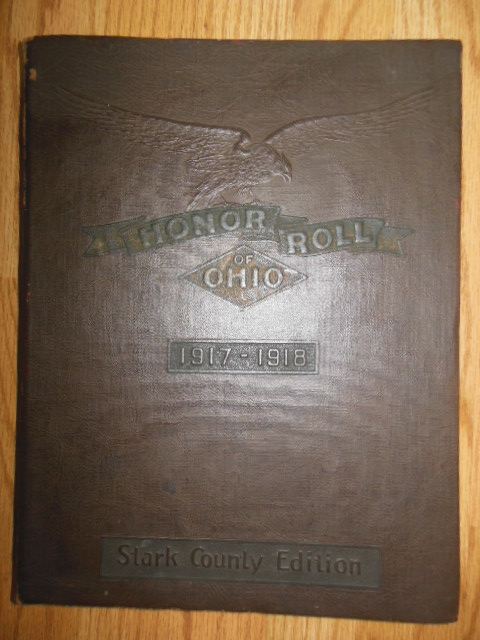 Image for Honor Roll of Ohio 1917-1918 Stark County, Ohio