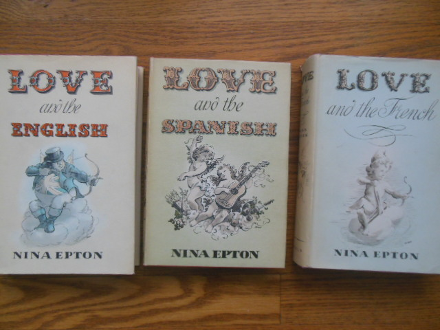 Image for Love and the French, Love and the Spanish, Love and the English  (3 Vol. set)