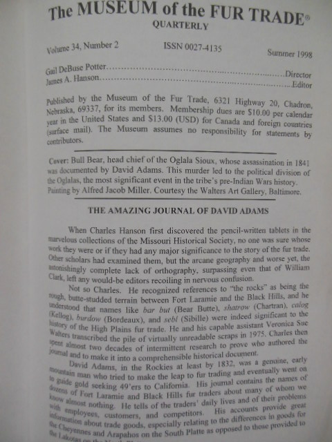 Image for The David  Adams Journals (Related Material Laid-in)
