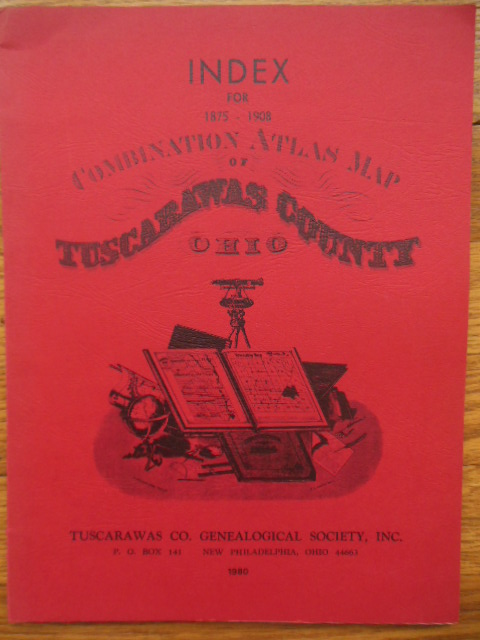 Image for Index for 1875-1908 Combination Atlas Map of Tuscarawas County Ohio