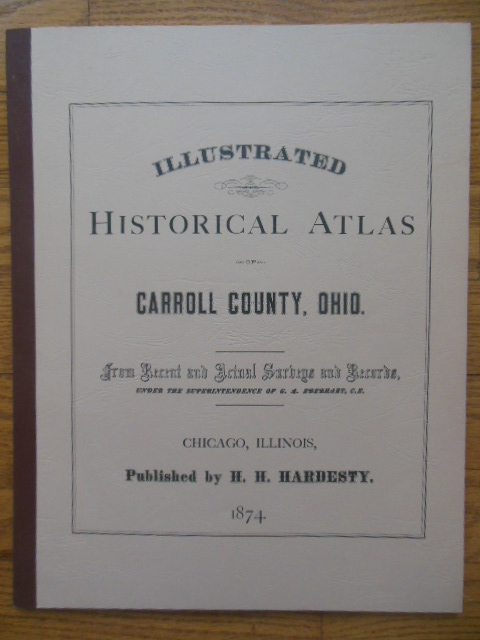 Image for Illustrated Historical Atlas of Carroll County Ohio