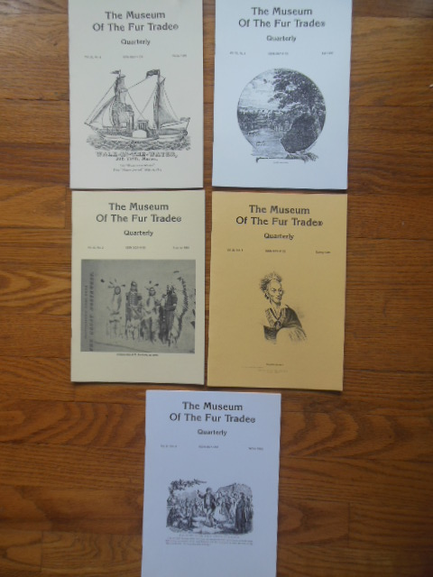 Image for The Museum of the Fur Trade Quarterly  1996 (Full Run Vol. 32 Nos,1,2,3,4 Plus Vol. 31 No 4)