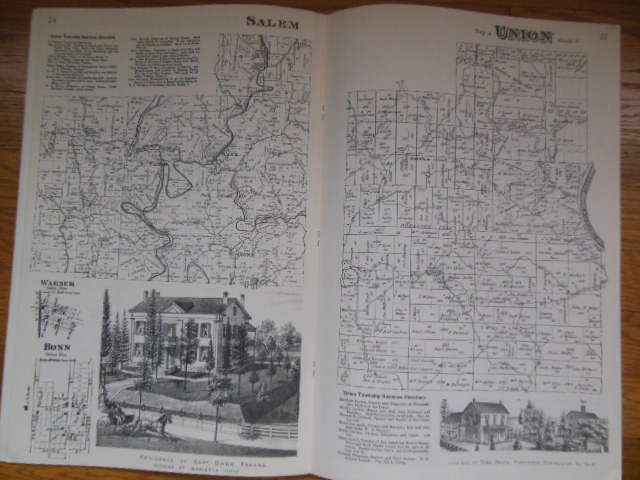 Image for Atlas of Washington County, Ohio (Reprint of 1875 orignal)