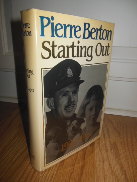 Image for Starting Out, 1920-1947 (SIGNED 1st Ed.)