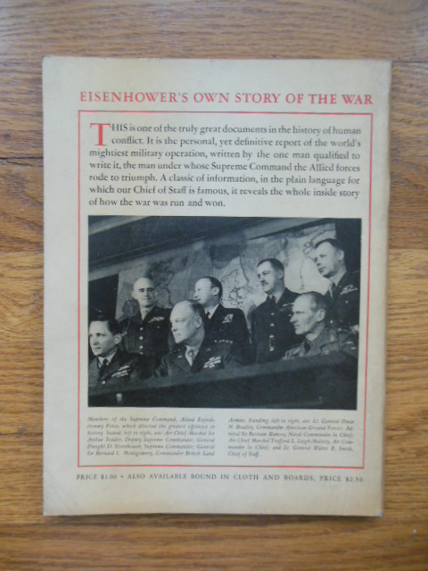 Image for Eisenhower's Own Story of the War