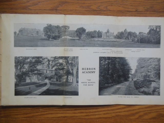 Image for Hebron Academy 1928 Catalog (Hebron, Maine)