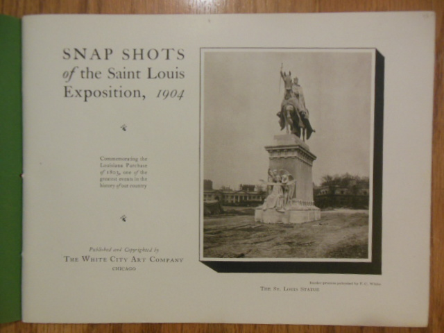 Image for Snap Shots Of The St. Louis Exposition 1904