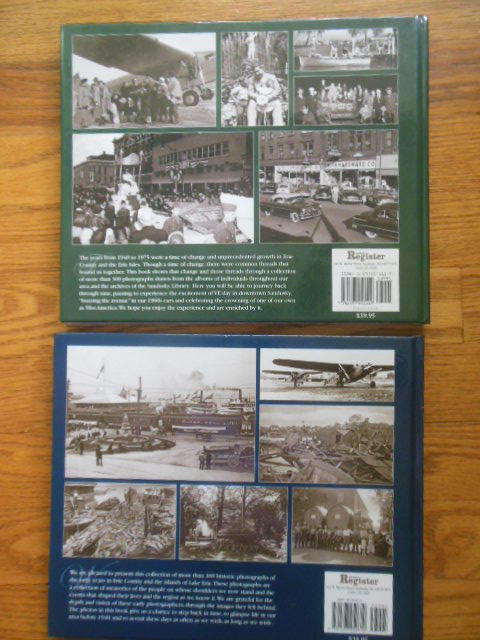 Image for A Pictorial Review of the Early Days of Erie County and the  Erie Isles;  A Pictorial History 1940-1975 Erie County and the Erie Isles (Two Volume set)