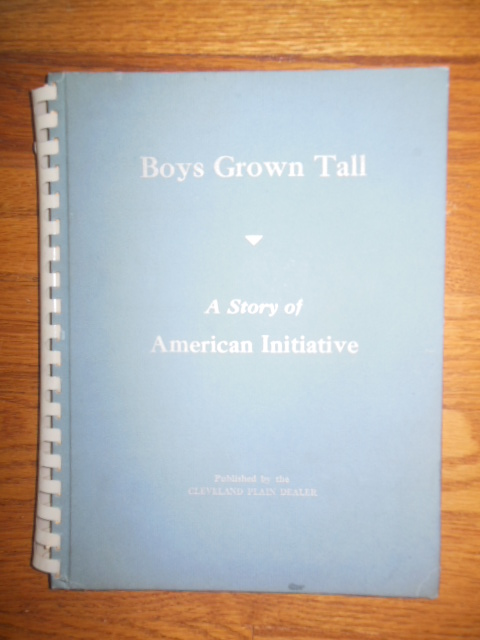 Image for Boys Grown Tall; a Story of American Initiative  (50   Cleveland Leaders)