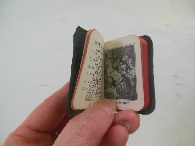 "Image for The Child's Bible and Prayer Book (Miniature 2""x 1-1/2"")"