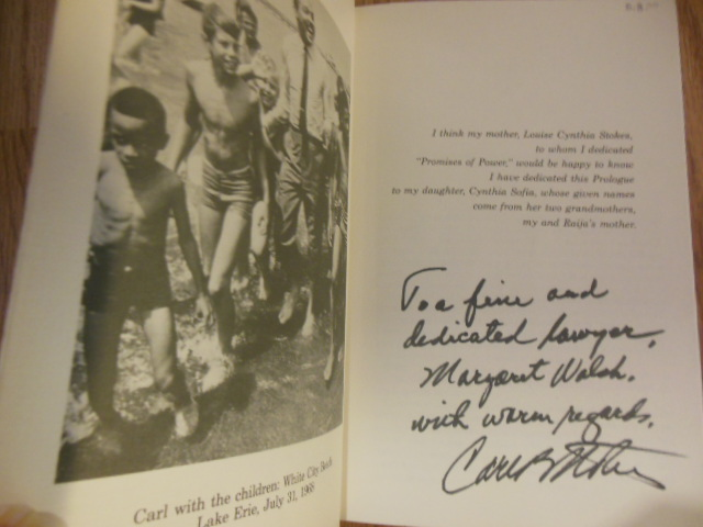 Image for Promises of Power Then and Now: A Political Autobiography  (SIGNED By Carl Stokes)