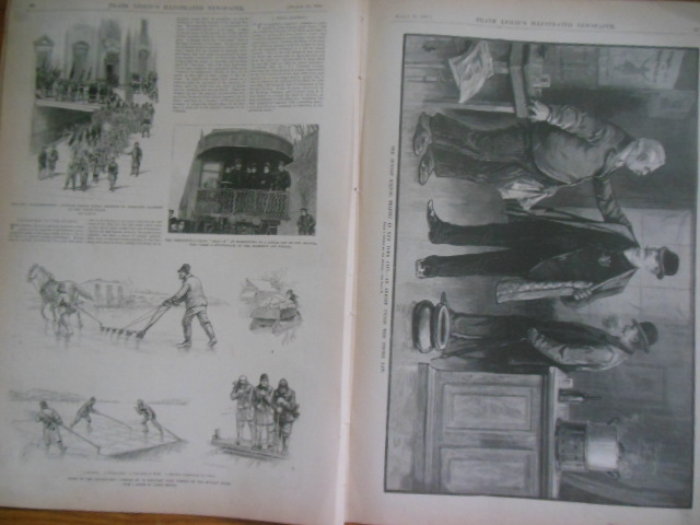 Image for Frank Leslie's Illustrated Newspaper March 16, 1889