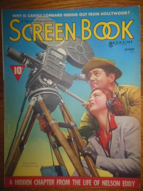 Image for Screen Book Magazine (October, 1938)
