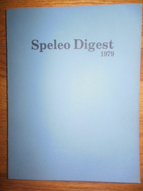 Image for Speleo Digest 1979