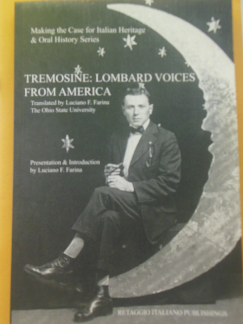 Image for Tremosine: Lombard Voices From America