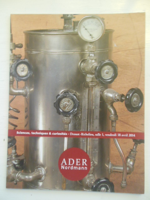 Image for Sciences Techniques & Curiosites (French Auction Catalog Ader Nordmann 2014)