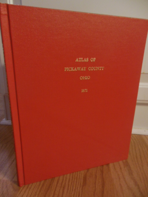 Image for Atlas of Pickaway County, Ohio  From Actual Surveys  By and Under the Directions of C.J. Lake C.E.