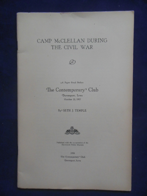 Image for Camp McClellan During the Civil War