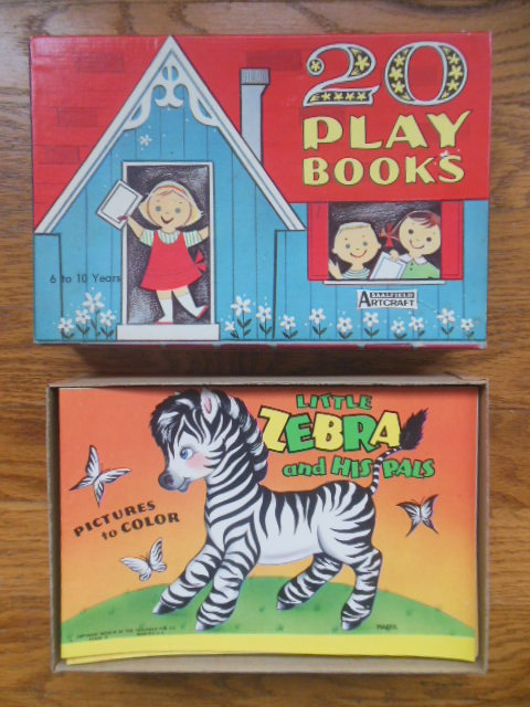 Image for 20 Play Books Saalfield Artcraft