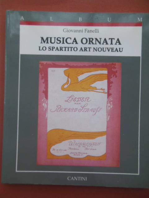 Image for Musica Ornata Lo Spartitio Art Nouveau