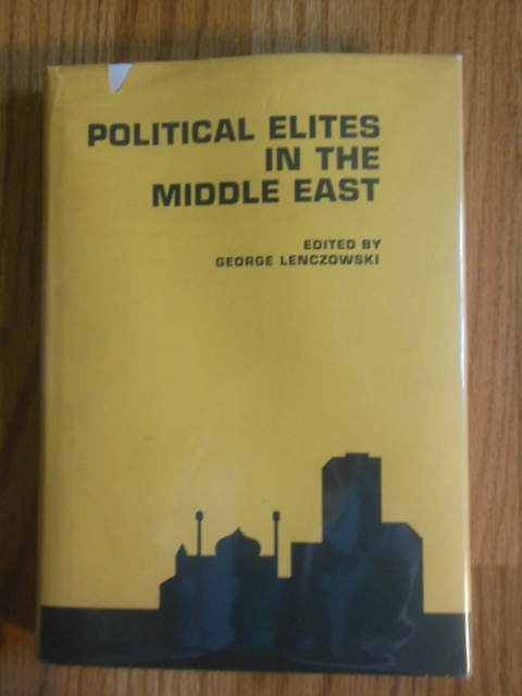 Image for Political Elites in the Middle East