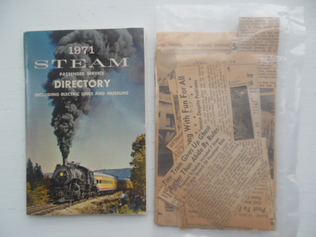Image for Steam Passenger Service Directory: Sixth Annual (Ephemera Laid-in)