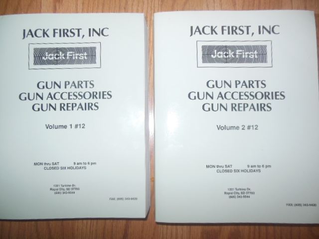 Image for Jack First Inc. Gun Parts Gun Accessories Gun Repairs Volume 1 #12 ; Volume  2 #12