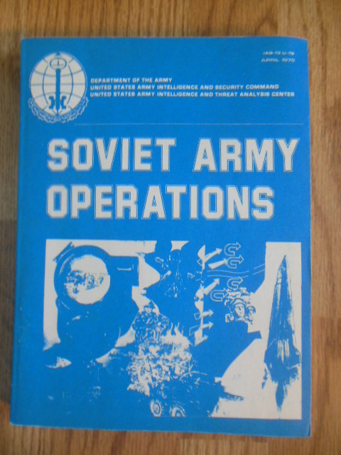 Image for Soviet Army Operations IAG-13-U-78