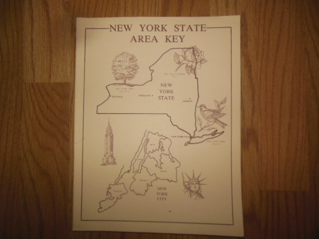 Image for New York Area Key: A Guide to the Genealogical Records of the State of New York including Maps, Histories, Charts, and other Helpful Materials