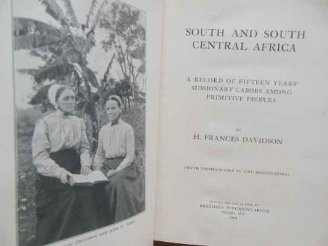 Image for South and South Central Africa: A Record of Fifteen Years ' Missionary  Labors Among  Primitive peoples