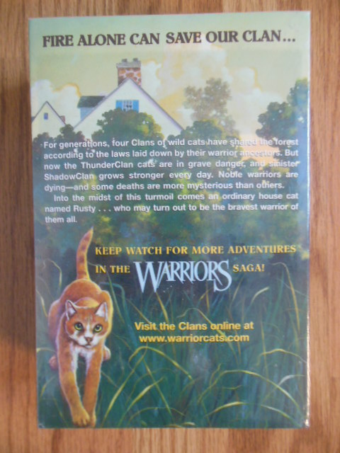 Image for Warriors Box Set: Volumes 1 to 3: Into the Wild; Fire and Ice, Forest of Secrets