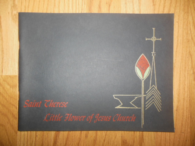 Image for Saint Therese Little Flower of Jesus Church (Cincinnati, Ohio Dedication Book)