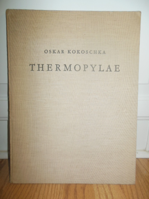 Image for Oskar Kokoshka Thermopylae Ein Triptychon (German Text)