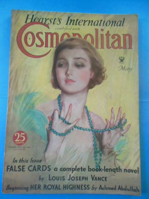 Image for Hearst's International Combined With Cosmpolitan Magazine, May, 1934  (Harrison Fisher Cover Art)