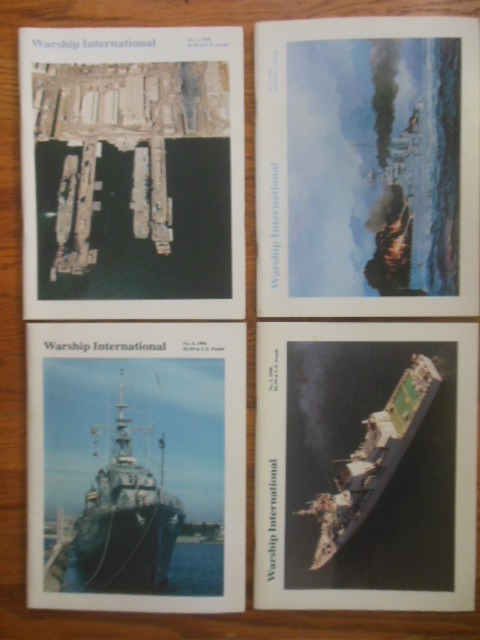 Image for Warship International Magazine 1996 (4 issues, full run)