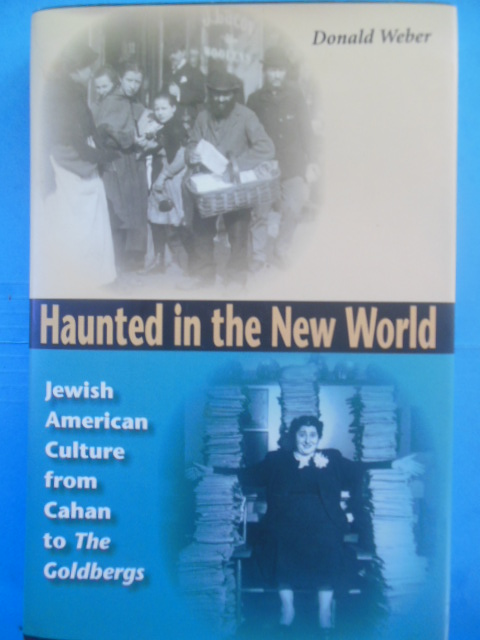 Image for Haunted in the New World: Jewish American Culture from Cahan to The Goldbergs (Jewish Literature and Culture)