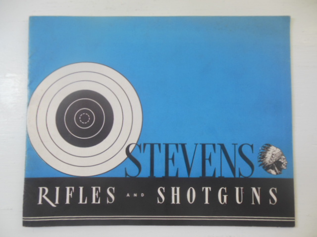 Image for Stevens Rifles & Shotguns. 1940 Stevens Rifles & Shotguns Catalog No. 40 (with letter and price list)