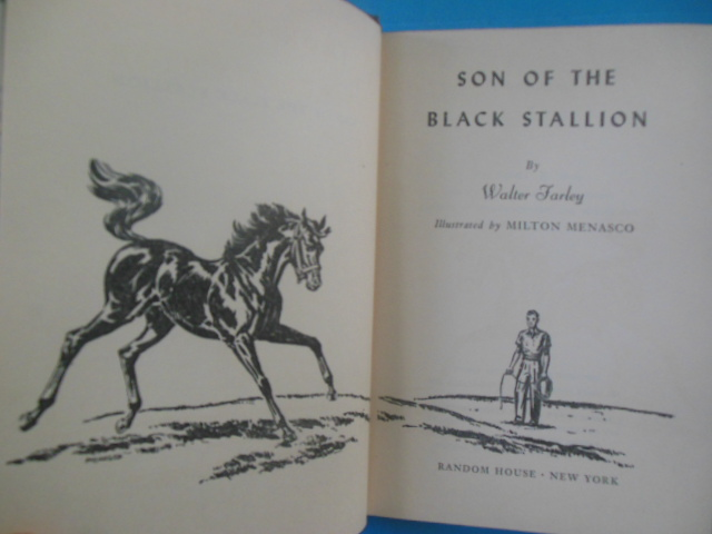 Image for Son of the Black Stallion (SIGNED)