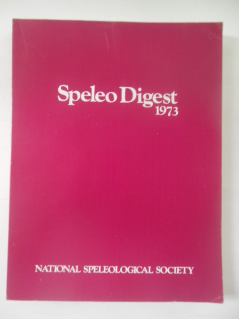 Image for Speleo Digest 1973