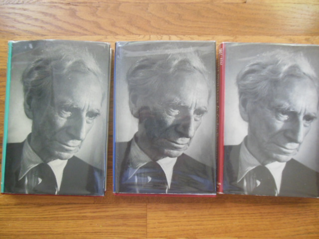 Image for The Autobiography of Bertrand Russell Volume I, Volume II, Volume III