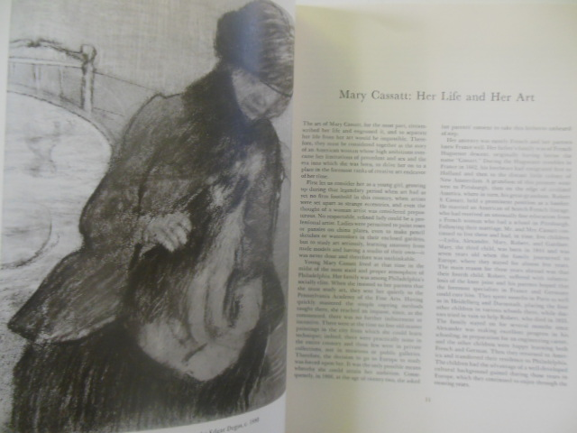 Image for Mary Cassatt: A Catalogue Raisonne of the Graphic Work