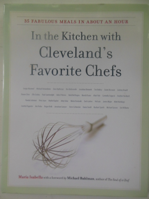 Image for In the Kitchen with Cleveland's Favorite Chefs  (SIGNED 1st Edition)
