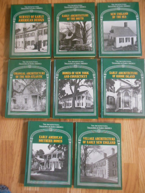 Image for The Architectural Treasures of Early America; Volumes 1-8
