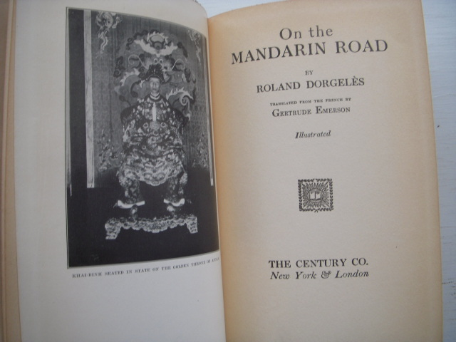 Image for On the Mandarin Road