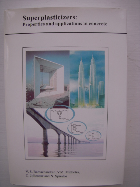 Image for Superplasticizers : Properties and Applications in Concrete
