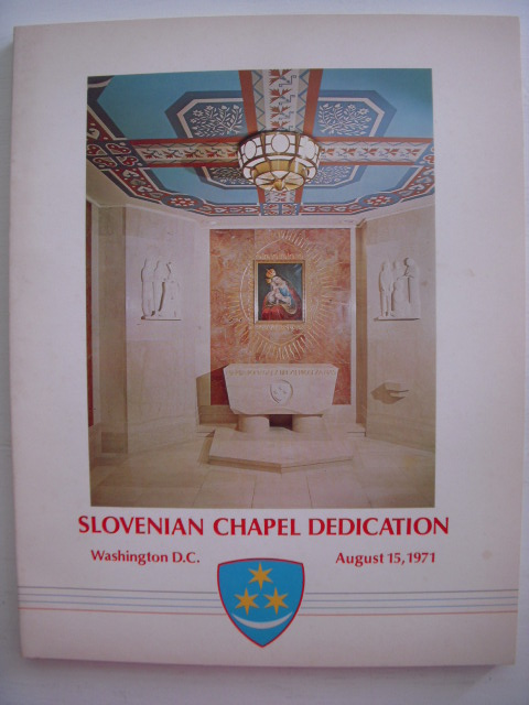 Image for Slovenian Chapel Dedication Washington D.C. August 15, 1971