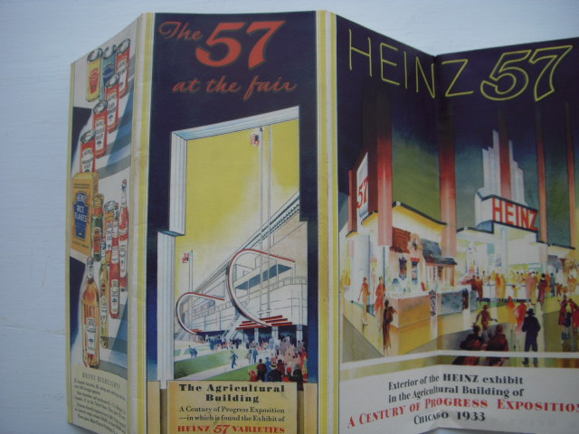 Image for The 57 at the Fair H.J. Heinz Co. Exhibit  of the 57 Varities at the Chicago World's Fair 1933