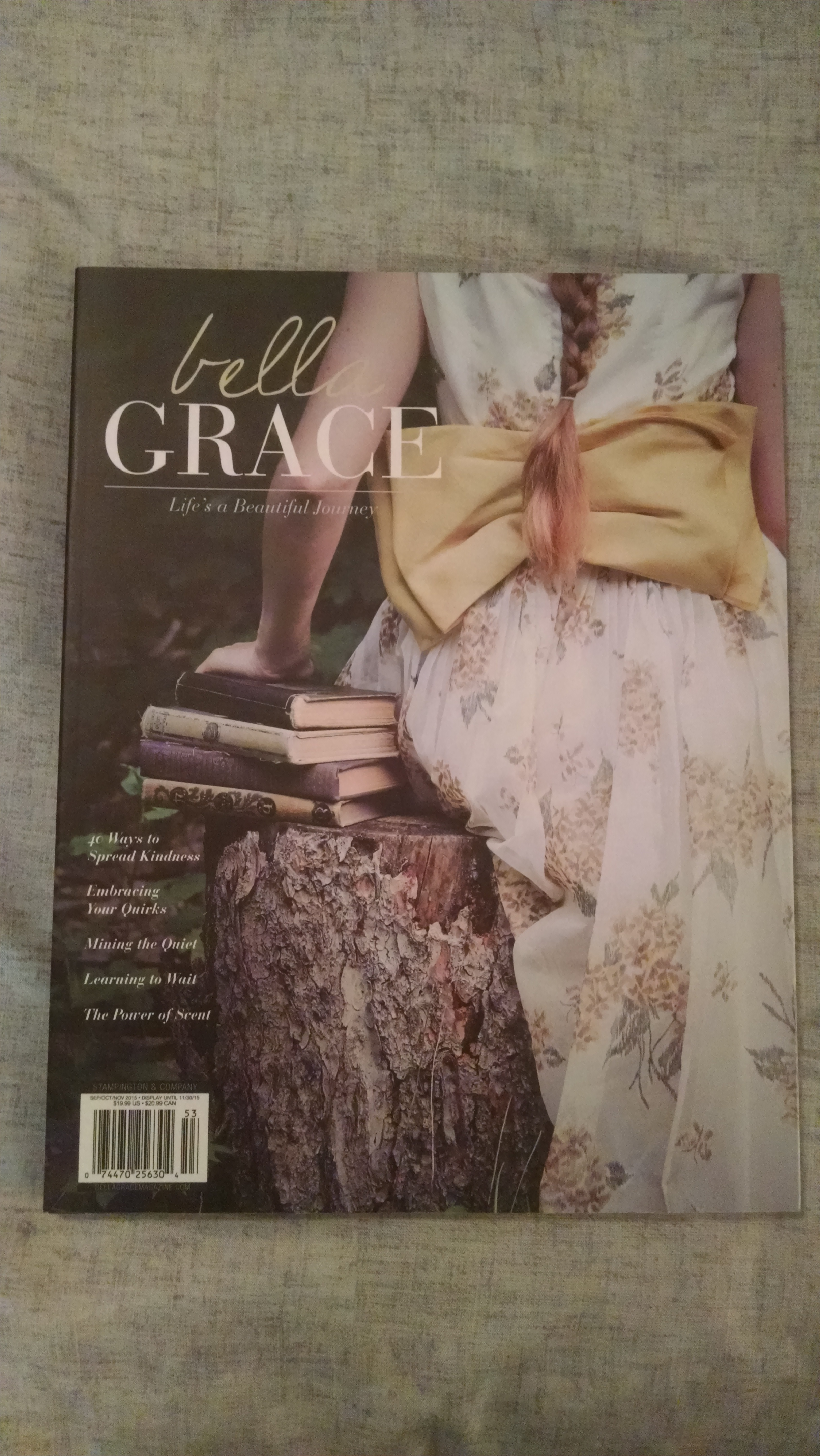 Image for BELLA GRACE  LIFE'S A BEAUTIFUL JOURNEY    AUTUMN 2015